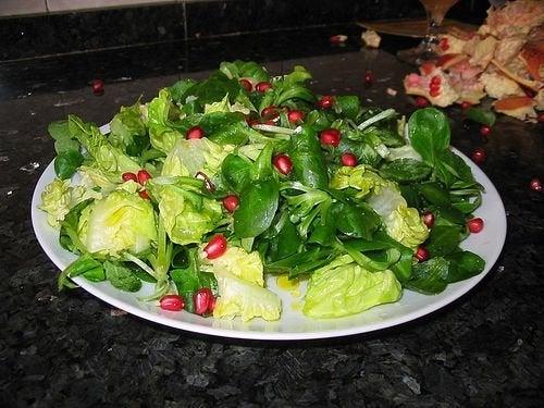 Insalata per un'alimentazione sana