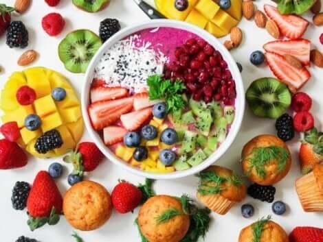 Dieta depurativa: insalata mista.