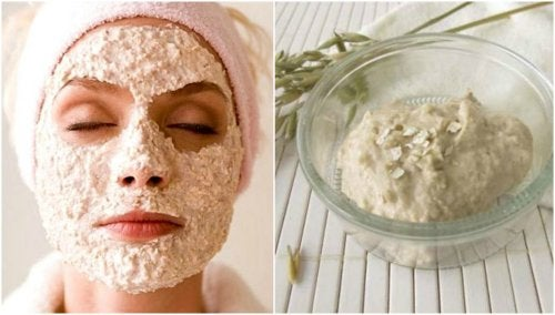 Maschera all'avena e yogurt per il viso