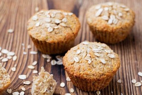 Muffin all'avena