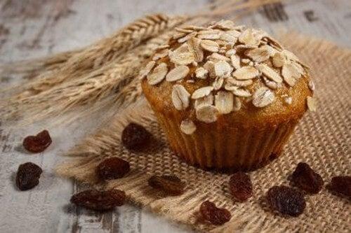 Muffin all'avena: nutritivi, senza glutine né lattosio