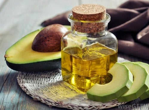 Olio di argan e avocado