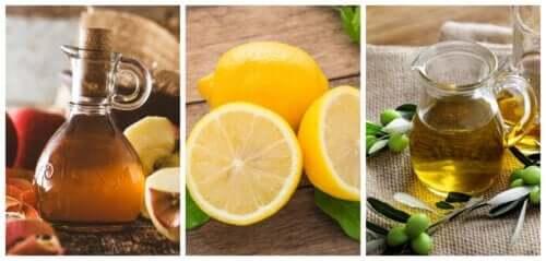Limone, olio e aceto: rimedio ideale per i calcoli renali