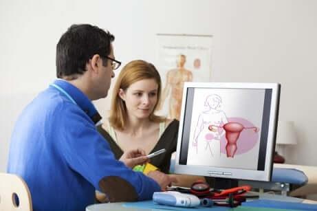 Sintomi della sindrome dell'ovaio policistico: la visita