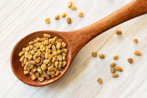 i semi di fieno greco favoriscono la crescita dei capelli
