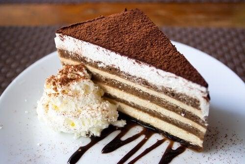 Tiramisù in formato torta