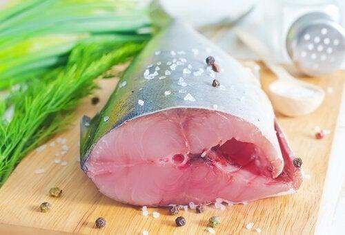 Trancio di pesce spada