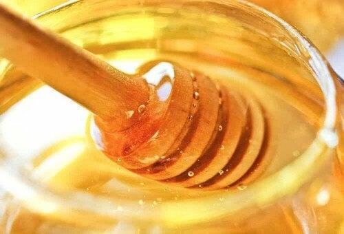 Un vasetto di miele.