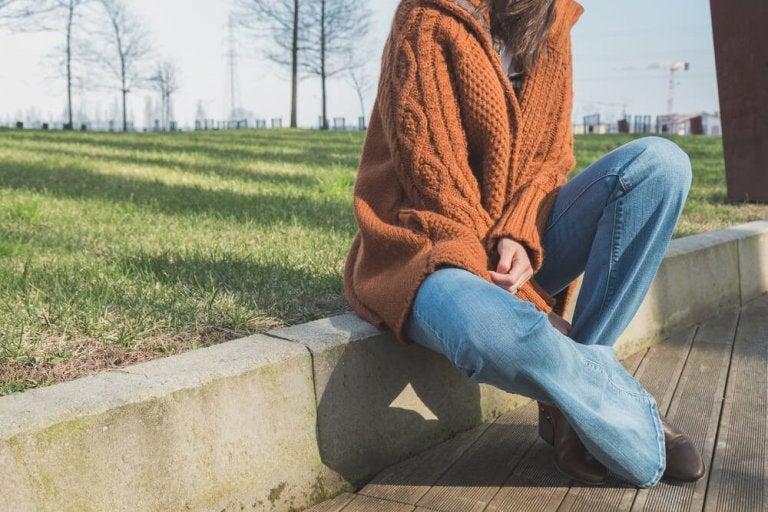 Il ritorno dei jeans scampanati