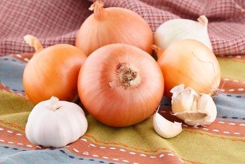 Cipolle e aglio per tosse e catarro