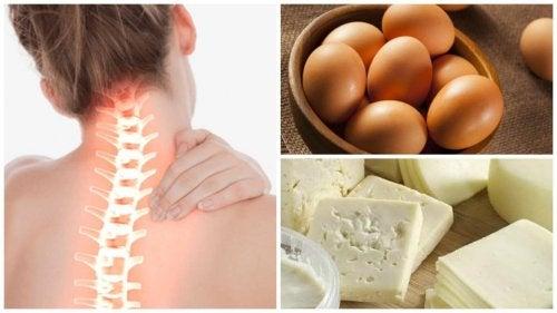 8 alimenti da includere nella dieta per rinforzare le ossa
