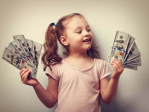 Bambina ricca