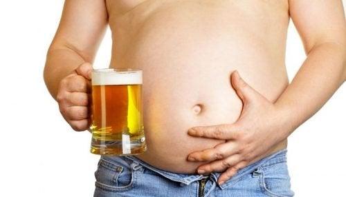 Birra e pancia