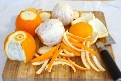 Buccia d'arancia tra i rimedi naturali per il dolore al collo