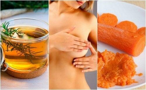 6 trattamenti di origine naturale per calmare la mastite