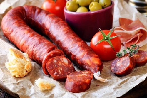 Chorizo e pomodoro