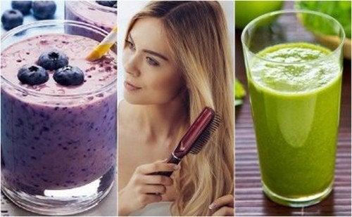 Frullati per nutrire i capelli: 5 ricette naturali