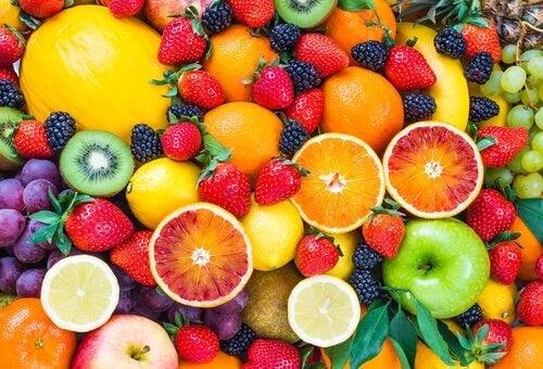 Frutta di vario tipo