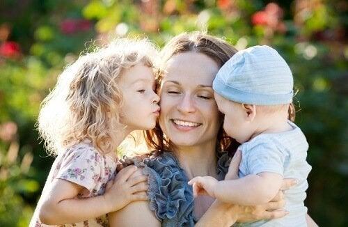 Madre e figli
