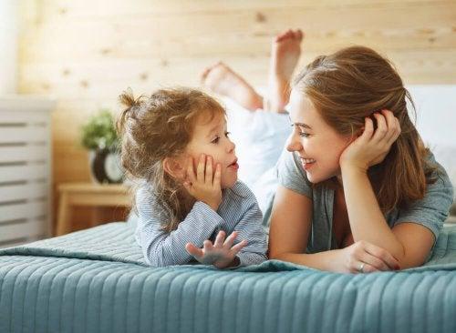 Confidenze tra madre e figlia