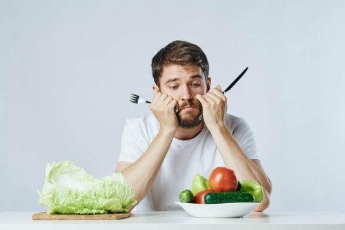 Mantenere una dieta diversificata