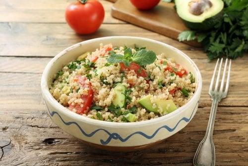 Quinoa e pomodoro