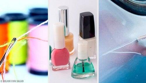 Smalto per unghie: 9 usi fai-da-te alternativi