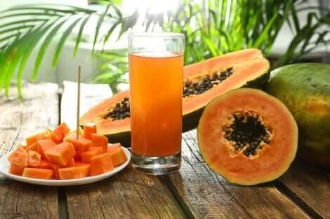 Succo di papaya