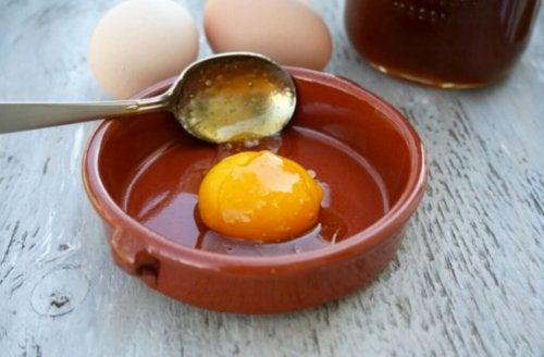 Uovo in una ciotola