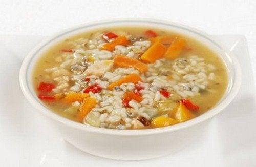 zuppa di verdure a dieta morbida