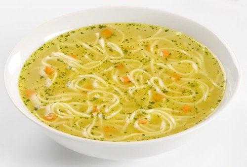 Zuppa vermicelli