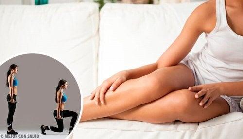 Esercizi per aumentare i muscoli delle gambe