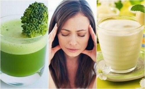 5 deliziosi frullati per combattere lo stress in modo naturale
