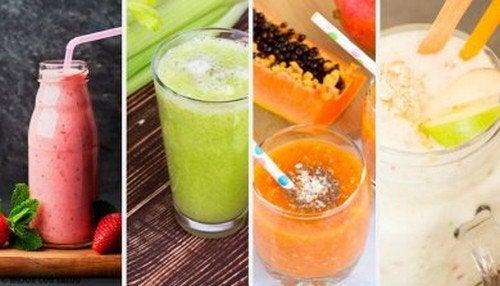 Frullati depurativi, deliziosi e sani da provare
