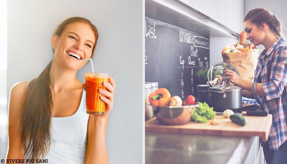 Disintossicare il corpo: 3 sane abitudini