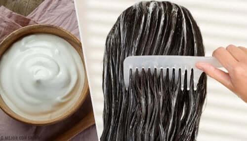 Maschere alla maionese per far risplendere i capelli