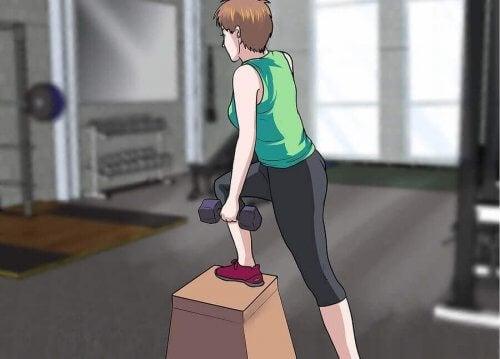 Routine di esercizi per evitare l'ipertrofia muscolare