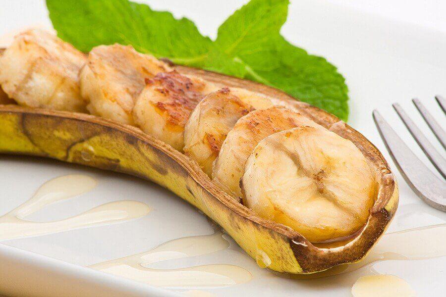 Banane al forno