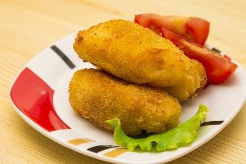 Crocchette di tonno e formaggio caserecce