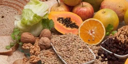 Frutta e fibra