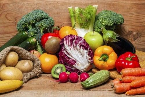 Frutte e verdura per una dieta variata