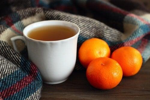Infuso di mandarino