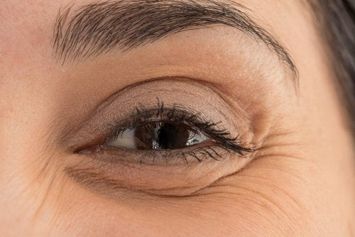 Occhio femminile in primo piano