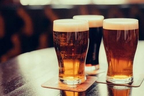 Bere birra durante una dieta dimagrante
