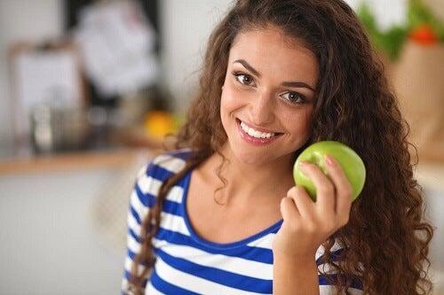 come perdere peso con farina davena e mela verde
