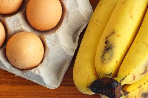 Uova e banane