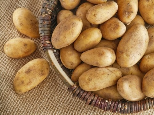 Cesto di patate