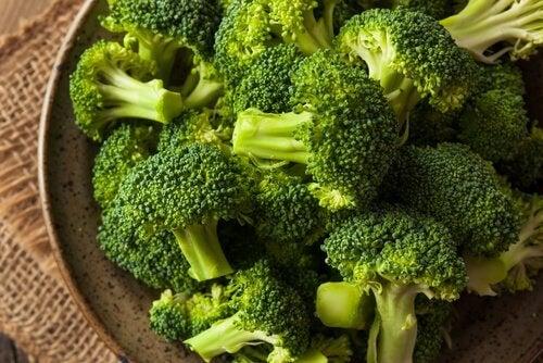 Broccoli basso contenuto di carboidrati