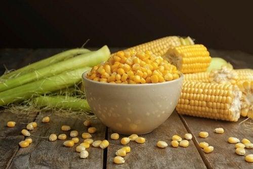 fiocchi di mais cereali integrali