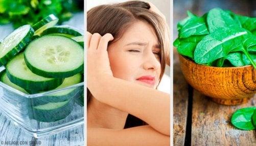 Calmare il mal di testa con i cibi adeguati